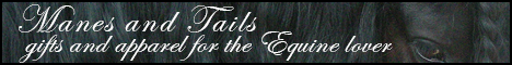 Manes and Tails gifts and apparel for the Equine lover banner